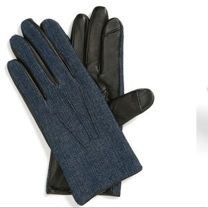 Echo denim tech gloves